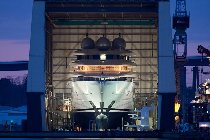 106M Mega Yacht Project MISTRAL