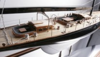 Model of the J-class yacht Lionheart
