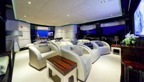 Mondomarine Manifiq Yacht - Cinema - Interior by Luca Dini Design