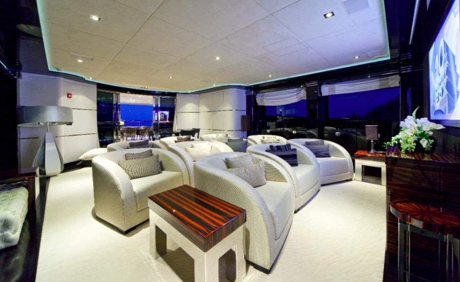 Mondomarine Manifiq Yacht   Cinema   Interior by Luca Dini Design png. Interior Image Gallery   Luxury Yacht Gallery Browser