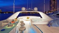 Moonraker -  Boat deck with Spa Pool and lounge