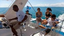 Motor Cat WILD ORCHID -  Relaxing on Charter