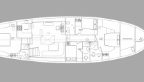 Motor Sailor FREYA -  Layout