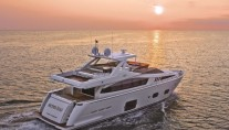 Motor Yacht ALTER EGO -  Aft View