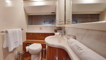 Motor Yacht AMOR - Guest ensuite