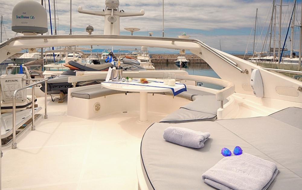 Motor Yacht AMOR - Sundeck