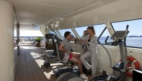 Motor Yacht Azteca by CRN - Gym Area on the Sun Deck