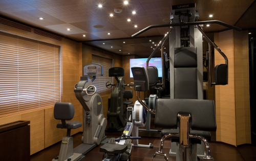 Motor Yacht BLUE SCORPION - Gym
