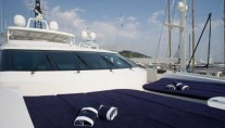 Motor Yacht BLUE SCORPION - VIP CabinForward Sunbathing Area