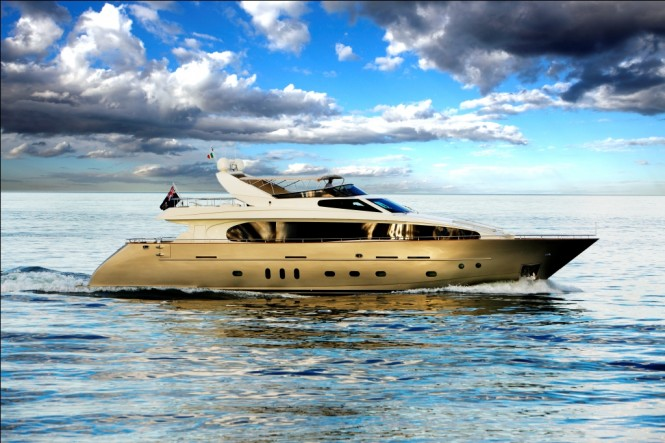 Motor Yacht Biscuit 95'