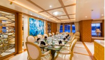 Motor Yacht CALLISTO - Formal dining