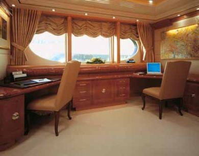 Motor Yacht Capri Private Office Luxury Yacht Browser By Charterworld Superyacht Charter