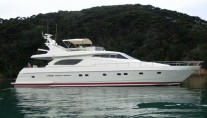 Ferretti Charter Yachts in Bay of Islands