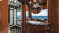 Motor Yacht CHECKMATE. -  Master Cabin Shower