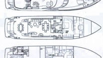 Motor Yacht CLARITY - Layout
