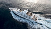 Motor Yacht Candyscape II from above