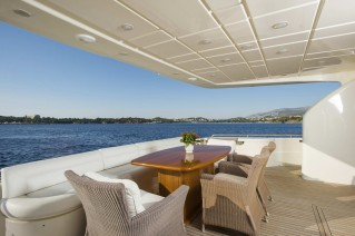 Motor Yacht DAY OFF - Aft deck