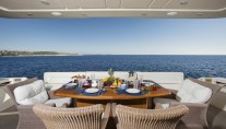 Motor Yacht DAY OFF - Alfresco dining