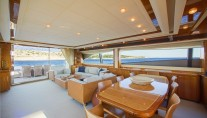 Motor Yacht DAY OFF - Salon view aft