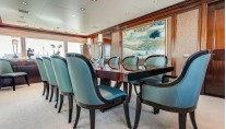 Motor Yacht GRAVITAS -  Formal dining