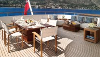 Motor Yacht HAMPSHIRE - Aft Deck