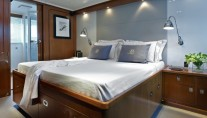 Motor Yacht Heavenly Daze - Owner Cabin -  Image courtesy of Pendennis