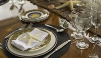 Motor Yacht IL CAPO - Table setting