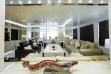 Motor Yacht JADE - Salon view forward