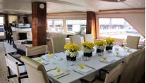 Motor Yacht JUSTINE -  Formal dining