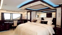 Motor Yacht Jade 95 Owner Bedroom