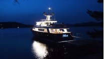 Motor Yacht KLOBUK - At night