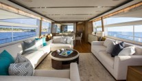 Motor Yacht LA VIE - Salon view forward