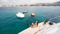 Motor Yacht LADY SPLASH - Swim platform