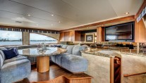 Motor Yacht LADY Z - Galley seating