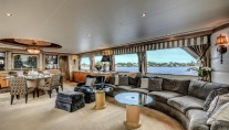 Motor Yacht LADY Z - Salin view forward