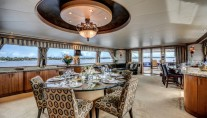 Motor Yacht LADY Z - Salon view aft