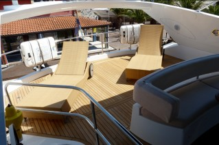 Motor Yacht LUCKY BEAR -  Flybridge