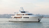 Motor Yacht Lady Gayle Marie launched in 2010 - Image courtesy of Burger Boat
