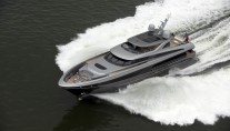 Motor Yacht Lucia M excels at sea trials - Photo Credit to E.J. Bruinekool
