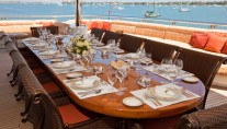 Motor Yacht MARTHA ANN - Alfresco dining
