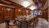 Motor Yacht MARTHA ANN - Formal dining