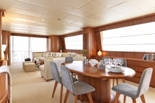 Motor Yacht MARTINA - Salon and dining