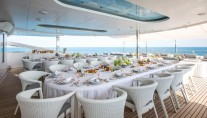 Motor Yacht MOONLIGHT II - Alfresco dining