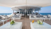 Motor Yacht MOONLIGHT II - Bridge deck aft