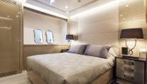 Motor Yacht MOONRAKER - Guest cabin view