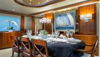 Motor Yacht OASIS - Formal dining