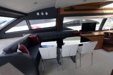Motor Yacht ONE MORE TIME - Interior dining