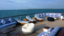Motor Yacht Polar Star - Aft Deck Sun Seating