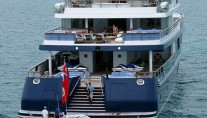 Motor Yacht Polar Star - Aft Decks