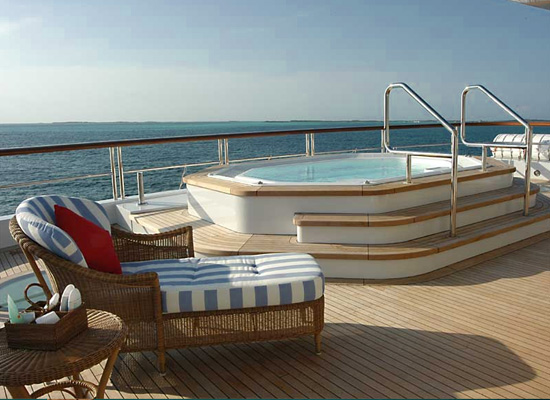 Motor Yacht Polar Star - Outdoor Jacuzzi Spa Pool